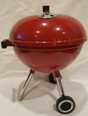 Weber Teleflora Red Original Kettle Grill Flowers Mini Toy Fast Free Shipping 61 00