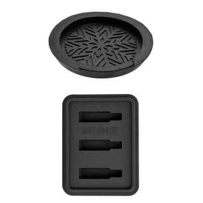 £5.95 • Buy Guitar Mute Silencer + Sound Hole Cover Set For Acoustic Folk Guitar Parts