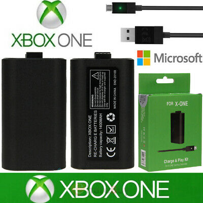 $18.89 • Buy For Xbox One X S Play And Charge Kit Rechargeable Battery Pack & Charging Cable