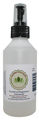 275ml Magnesium Chloride Oil HDPE With Atomiser And Tea Tree Essential Oil • 15.45£