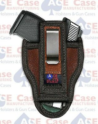 $14.95 • Buy Springfield Armory Xds 3.3   Leather Concealed Holster By Ace Case - Usa Made