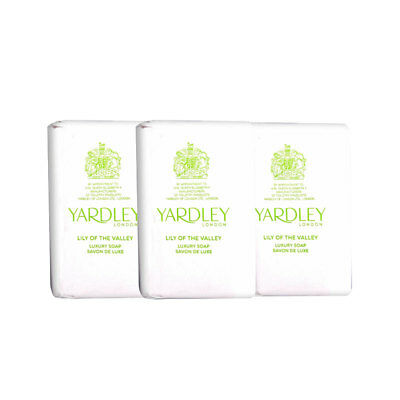 Yardley Lily Of The Valley Soap Trio 300g • 3.99£