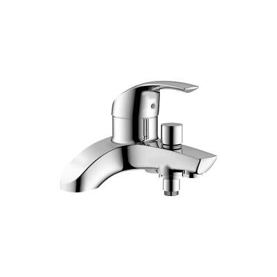 Grohe Eurosmart Bath Shower Mixer Tap Chrome Deck Mounted Single Lever 25105000 • 149.99£