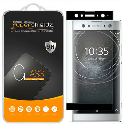 AU11.97 • Buy Full Cover Tempered Glass Screen Protector For Sony Xperia XA2 Ultra (Black)