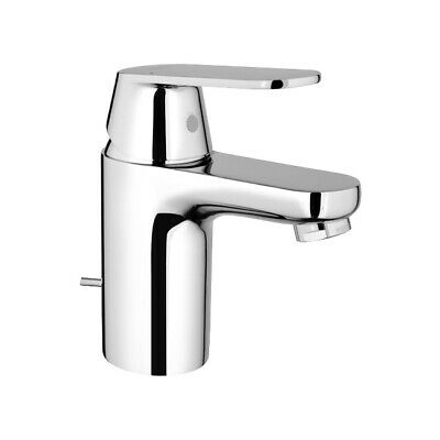 Grohe Eurosmart Cosmopolitan Basin Sink Mixer Tap & Pop Up Waste Chrome 3282500L • 79.53£