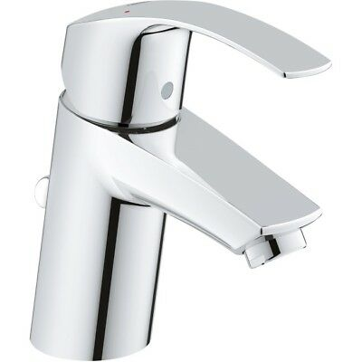 Grohe Eurosmart Basin Sink Mixer Tap Pop-Up Waste Single Lever Chrome 3326520L • 72.98£