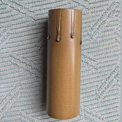 4  Candle Socket Cover Or Covers Old Floor Lamp Wall Sconce, Dark Antique Color • 3.40£