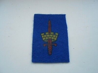 £10 • Buy London District   Cloth Formation Sign Military Unit Patch