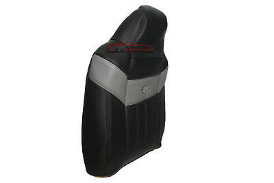$199.99 • Buy 2004 2005 Ford F250 Harley Davidson Driver Lean -Back Leather Seat Cover-BLACK