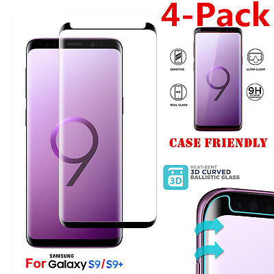 $ CDN6.46 • Buy Case Friendly Tempered Glass Screen Protector For Samsung Galaxy S9 / S8 Plus +