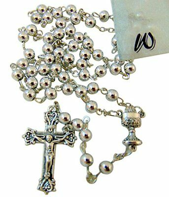 Westman Works First Holy Communion Metal Rosary With Gift Bag For Boys Or Girls • 8.65£