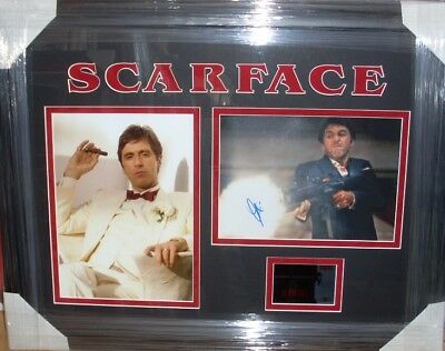 £495 • Buy  Al Pacino Scarface Signed Montage Aftal