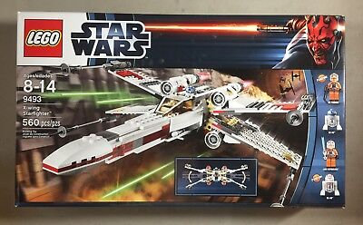 £144.86 • Buy LEGO Set 9493 Star Wars X-Wing Starfighter Sealed Brand New Never Opened