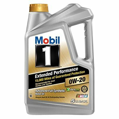 AU86.50 • Buy 1 X Mobil 1 EP Engine Oil 0W-20 4.73Liter 5QT Extended Performance FREE SHIPPING