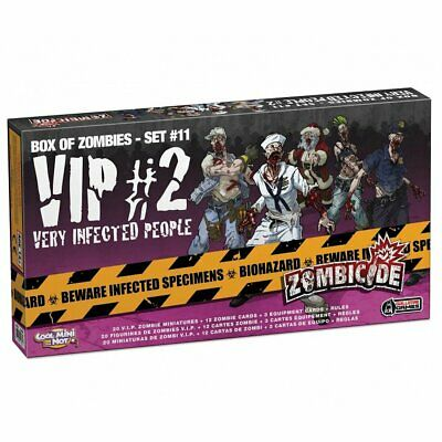 AU49.74 • Buy Zombicide: VIP Very Infected People 2 Expansion Board Game