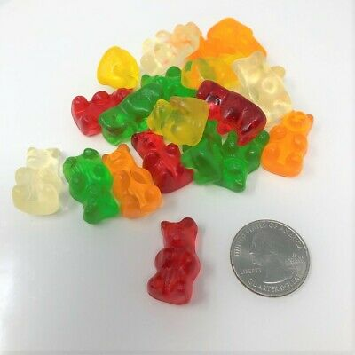 $19.95 • Buy Sugar Free Gummi Bears Part Stevia 2 Pounds Bulk Sugar Free Gummy Candy