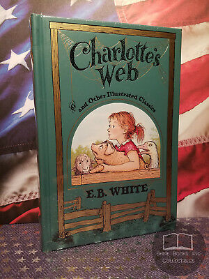 £73.09 • Buy NEW SEALED Charlotte's Web By E B White Bonded Leather Edition RARE Size Ed OOP