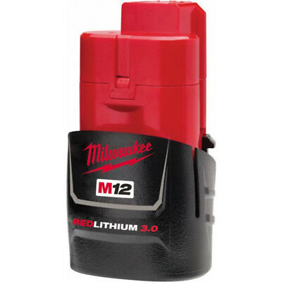 AU97.90 • Buy New Milwaukee M12 12v Cordless M12b3 3amp Battery (lithium Ion Technology)