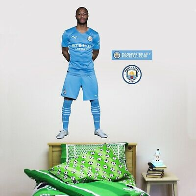 £29.99 • Buy Official Manchester City Wall Sticker - Raheem Sterling 21/22 Player Decal Art