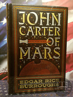 $59.95 • Buy NEW SEALED John Carter Of Mars By Edgar Rice Burroughs Bonded Leather Edition