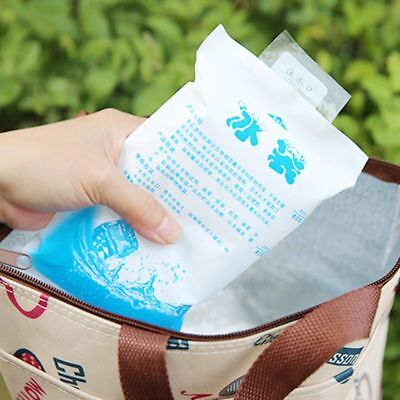 £3.99 • Buy 3 PACK OF FREEZER COOL PACK ICE GEL COOLER BOX BAG REUSABLE TRAVEL LUNCH  School