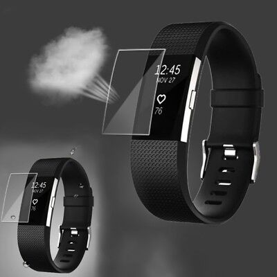 AU4.90 • Buy HD Screen TPU Protector For Fitbit Charge 2 Band Youth Smart Watch Ultra Thin
