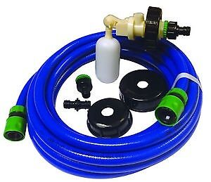 Caravan Mains Water Universal Fill Adaptor Food Hose Aqua Roll Waterhog 10 Metre • 22.50£