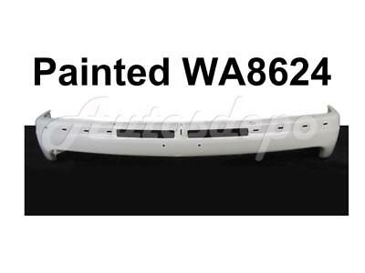 $333.44 • Buy Painted WA8624 SUMMIT WHITE Front Bumper Face Bar For Silverado 1999-2002
