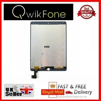 For Apple IPad Air 2 Replacement Touch Screen Digitizer & LCD Assembly White UK • 99.26£