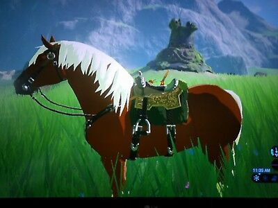 AU9.99 • Buy Epona Pony Amiibo Coin Amiiqo Breath Of The Wild BOTW - NOT Figurine/statue