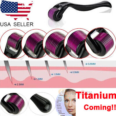 AU9.47 • Buy 540 Microneedle Needle Derma Roller Dermaroller Therapy Skin Titanium Care ZGTS