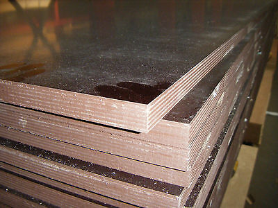 PHENOLIC FACED BIRCH PLYWOOD SMOOTH 1 SIDE MESH 1 SIDE 2440mm X 1220mm X 18mm  • 69.55£