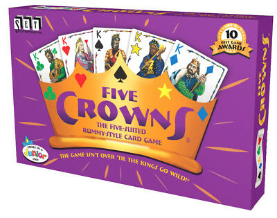 AU16.99 • Buy Five Crowns Card Game 5 Suites Classic Original Family (4001) Rummy Style Play