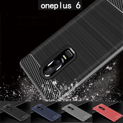 AU4.84 • Buy For OnePlus Nord 8 7 Pro 6T Shockproof Carbon Fiber Soft TPU Rubber Cover Case
