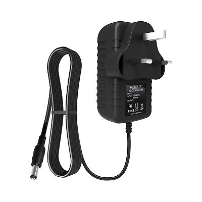 Replacement Adapter Power Supply For YAMAHA DD-55 DIGITAL DRUM MACHINE Keyboard • 8.49£