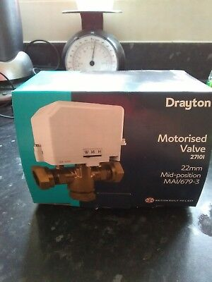 £60 • Buy New In Box A Drayton Motorised Valve Model Number 27101.£60 Buyer Collect