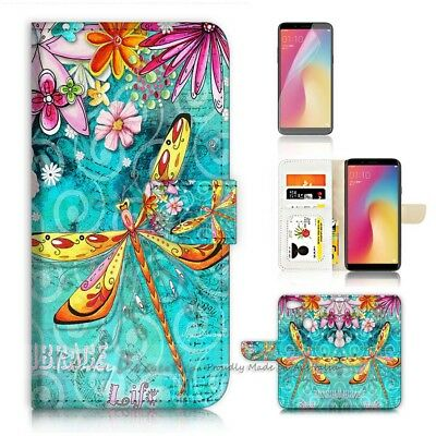 AU12.99 • Buy ( For Oppo A73 ) Flip Wallet Case Cover P21095 Dragonfly