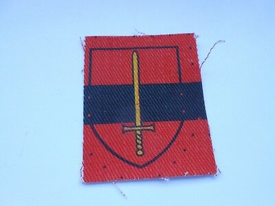 £9.99 • Buy Territorial Army  Printed  Mint  Cloth Formation Sign Military Unit Patch