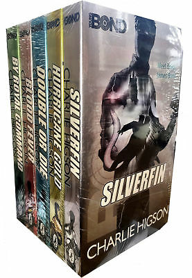 £16.20 • Buy Charlie Higson Young Bond Series 5 Books Set Collection SilverFin, Blood Fever