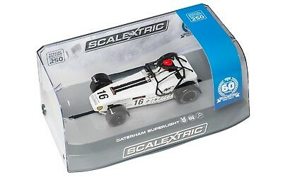 Scalextric C3723a Caterham Superlight - R300-s 60th Anniversary Edition *new* • 34.50£