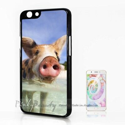 AU9.99 • Buy ( For Oppo A57 ) Back Case Cover P30137 Cute Pig