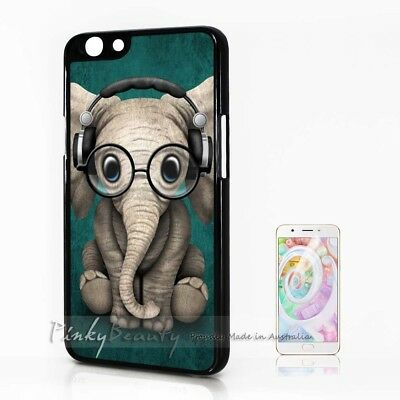 AU9.99 • Buy ( For Oppo A57 ) Back Case Cover P30189 Cute Elephant