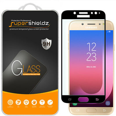 AU11.67 • Buy 2X Full Cover Tempered Glass Screen Protector For Samsung Galaxy J7 Pro