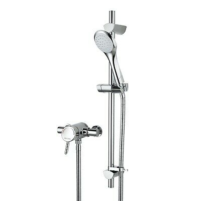 Bristan Acute Thermostatic Fast Fit Shower Bar Valve Exposed Mixer Handset • 139.99£