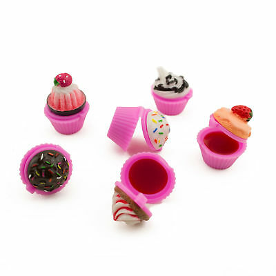 £151.90 • Buy 24pc Scented Cupcake Lip Gloss Sprinkle Spa Theme Barbie Baking Party Favor LOT