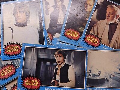 £1.60 • Buy Star Wars Collectors Cards Topps Chewing Gum 1978 Numbers 1-66 - Pick Your Card