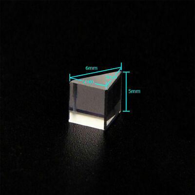$6.96 • Buy 6PCS 11.5X10.5X15mm Right Angle Triangular Prism For Physics Science Teaching