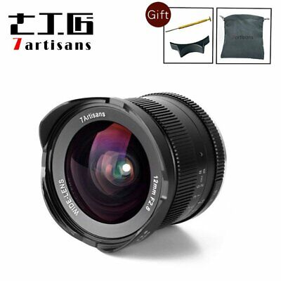 AU230.54 • Buy 7artisans 12mm F2.8 Wide Angle Lens For Sony E Mount APS-C NEX-7 A6500 A6300