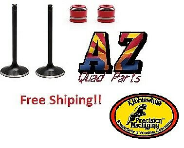 $69.99 • Buy 04-17 Honda CRF250X CRF 250X Kibblewhite Black Exhaust Valves & Seals Pair