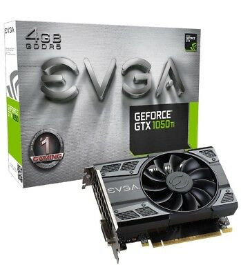 $ CDN291.79 • Buy EVGA GeForce GTX 1050 Ti GAMING, 4GB GDDR5, DX12 OSD Support (PXOC) Graphics Car